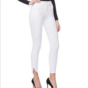 NWT Good American Good Legs Jeans Crop White